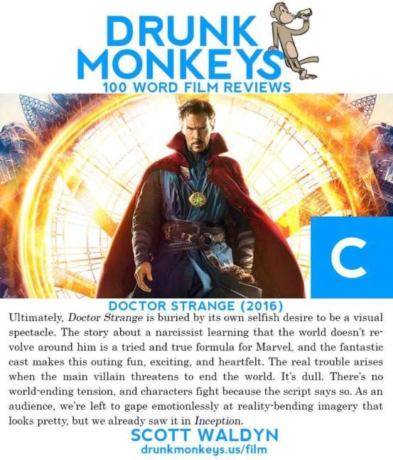 Marvel's Doctor Strange Movie Review