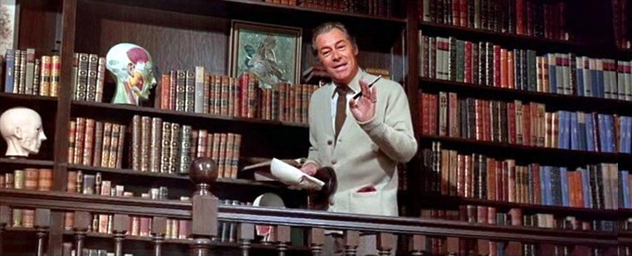 Rex Harrison-Sized Library