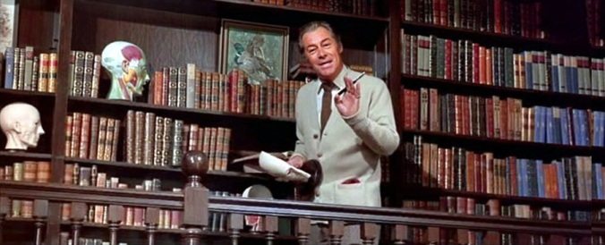 Rex Harrison-Sized Library